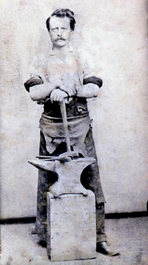 Michael Harm, circa 1862