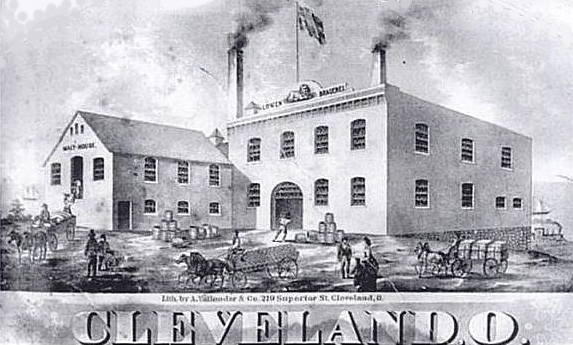 An early Cleveland brewery