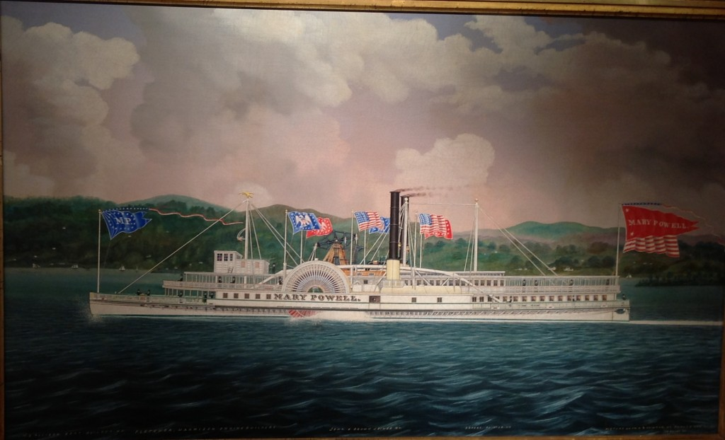 Mary Powell steamship