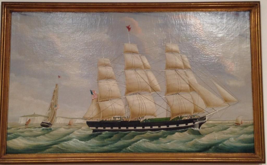 Southampton Black X Line circa 1850