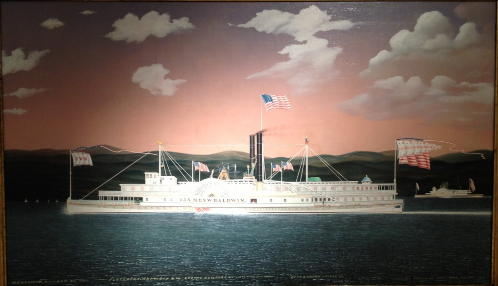James Baldwin steamship