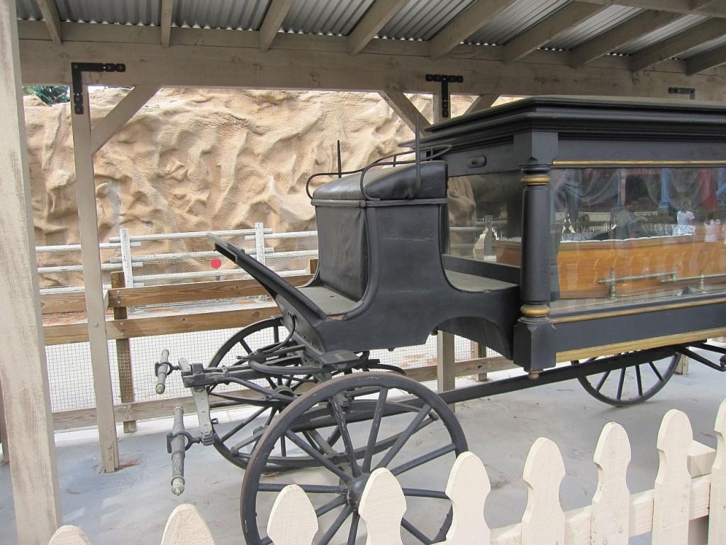 Black hearse