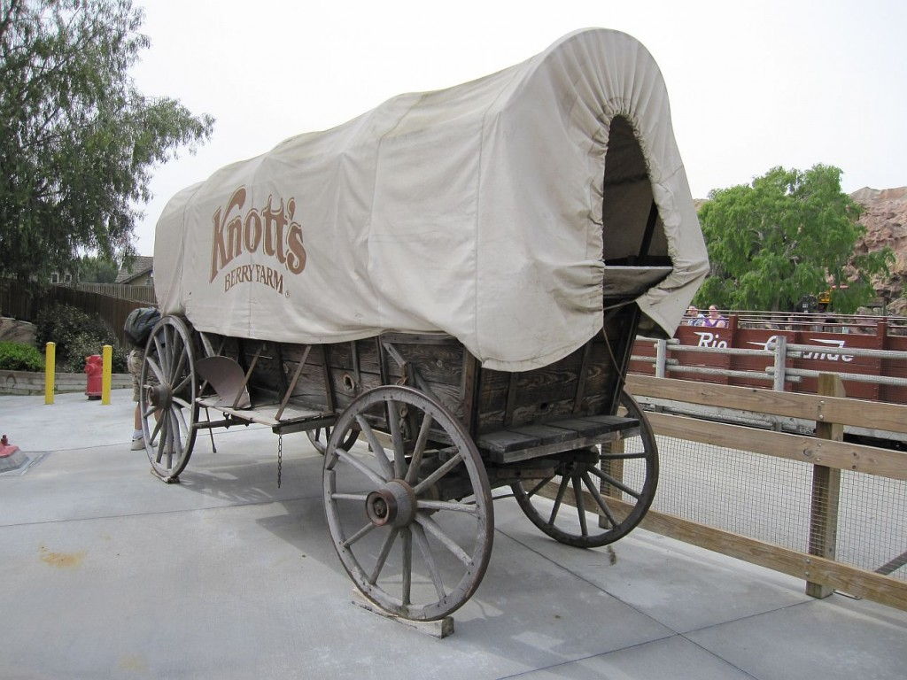 Knott's Berry Farm wagon