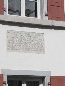 sinsheimer house
