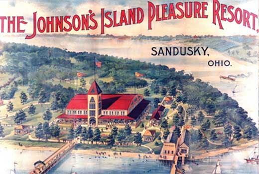 johnsons island postcard