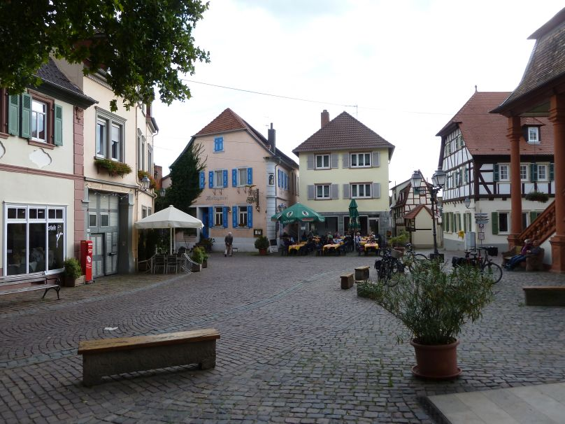 Freinsheim town center
