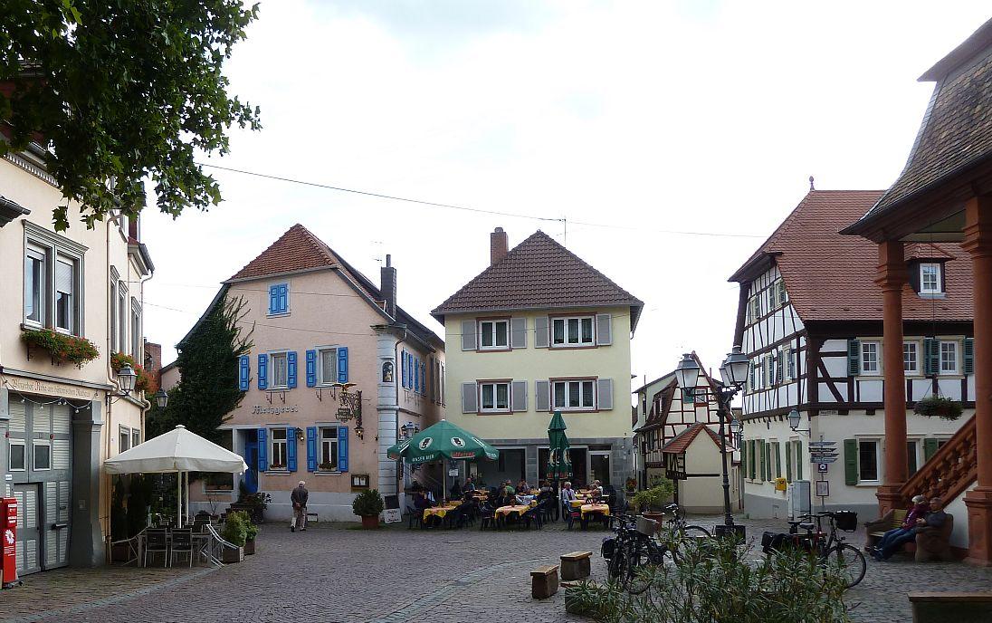 Freinsheim town market place