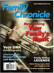 family chronicle cover