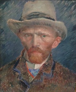 Self-Portrait at Rijksmuseum, Vincent Van Gogh