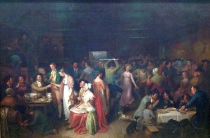 """The Penny Wedding"" 1819 by Alexander Carse The Scottish National Gallery, Edinburgh"
